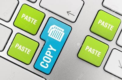 Do copy paste