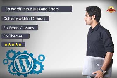 Fix Wordpress Issues Or Errors