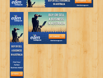 Design animated HTML5 banner ads for all ad platforms (3 sizes)