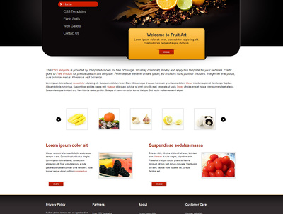 Design your website on PSD
