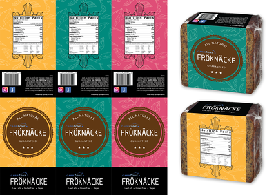 Create a packaging design for your brand