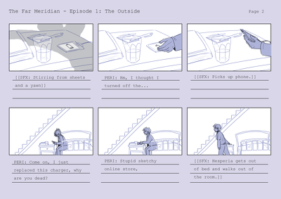 Storyboard your animation/film/game