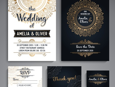 Design all kinds of invitations for any events