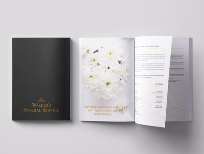 Design an 8 page corporate brochure or catalogue