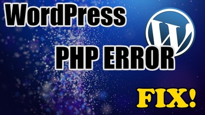 Fix wordpress issues, wordpress errors problems in 24 hours