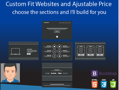 Custom Fit Websites choose the layout I'll build for you