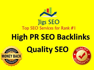 Manually Build High PR Quality SEO Backlinks for Rank #1