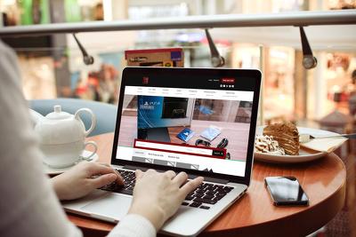 Design modern SEO friendly WordPress website