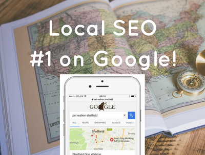 Perform local SEO on your site and get you to #1 on Google