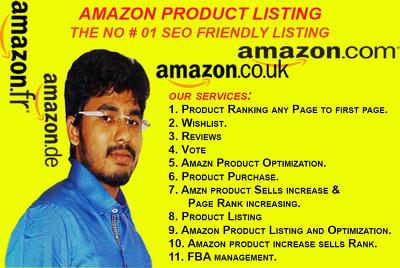 Write SEO friendly Amazon Product Listing