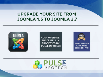 Upgrade joomla 1.5 to 2.5.x or 3.x