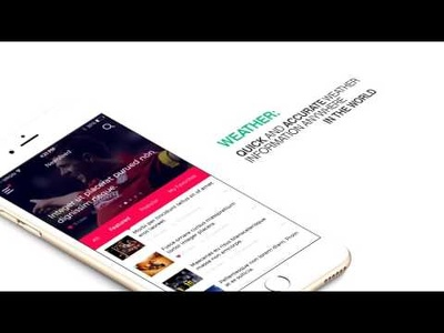 Create mobile app promotional video