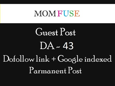 Do guest posting at Momfuse.com