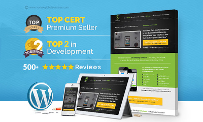 Build fully responsive PREMIUM Wordpress site *Starter Package*