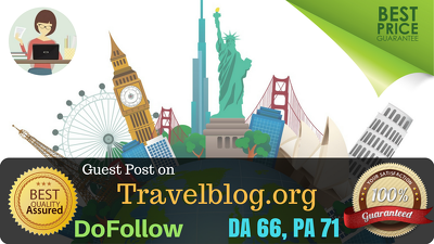 Write and Publish a Quality Guest Post on Travelblog.org DA 66