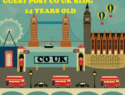 Write and Guest Post on 5 High Quality 14 Years CO.UK Blog