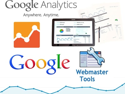 Configure your Google analytics & webmaster tools