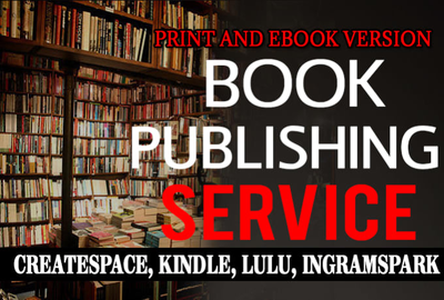 Publish Your Book In Print And Ebook Version On Pod Platforms