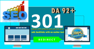 Build Da92 301 Redirect Backlinks from Forbes,Cnn,Huffpost......