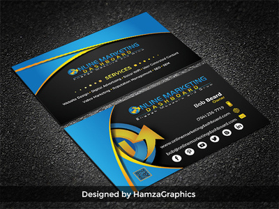 Design an attention grabbing business card for your business