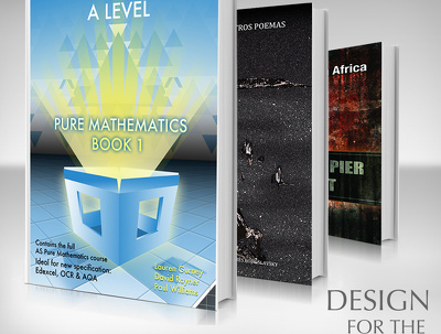 Create a professional book cover design for £250.
