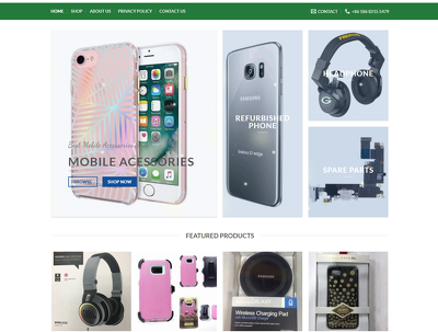 Build your online shop or Store or WooCommerce WordPress Website