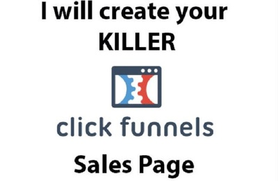 Design A Sales Page For Jvzoo, Clickbank and other Platforms