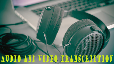 Transcribe 20 minutes of audio or video material