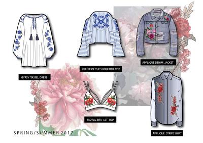 Design 20 garments for
