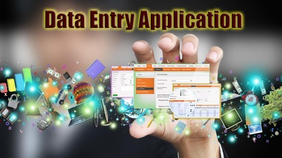 Create a simple Standalone Data Entry Software App at 1 hour