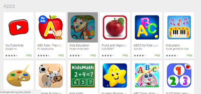Develop kids app for your