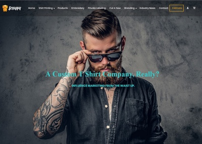 Build and customize fully responsive wordpress website