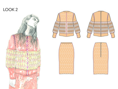 Create a Fashion Technical Drawing/ Design Spec