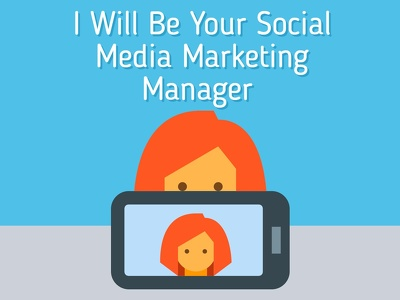 Be Your Social Media Marketing Manager For One Month