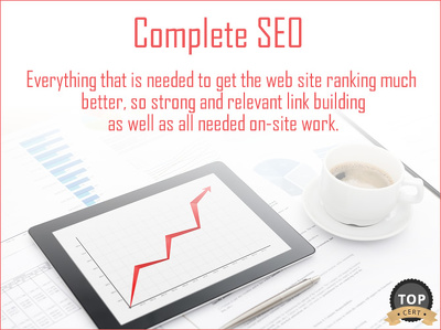 Offer a Complete SEO Service