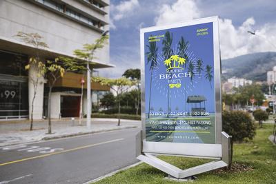 Design Professional & Unique Flyer, Poster & Menu Within 24 Hour