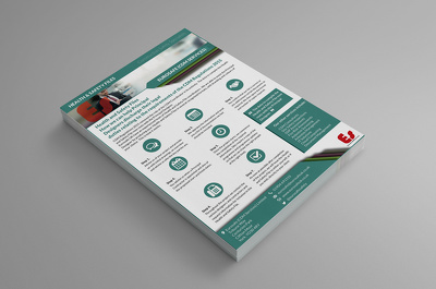 Design a flyer / poster / leaflet with unlimited revisions