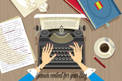 Write content for your blog in Spanish (SEO-optimized)