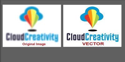Convert Your LogoOr Image Or Graphic To clear Vector File