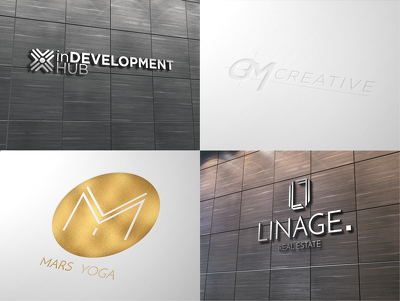 Professional Logo Design + FREE Favicon - All Source Files