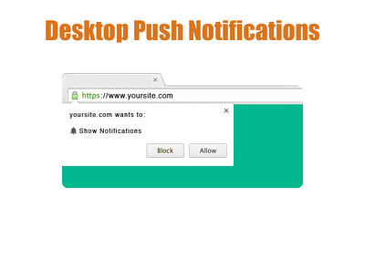 Keep website push notifications