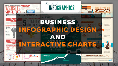 Create Business Infographic Design And Interactive Charts