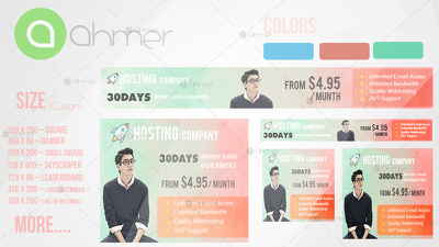 Design A Professional Web Banner,Header,Ads,Cover