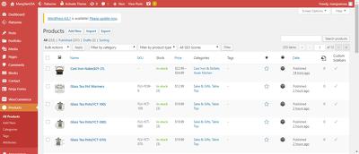 Upload 150 advance level prodcut in e-commerce site