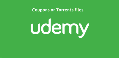 Udemy coupon or torrent file of one course