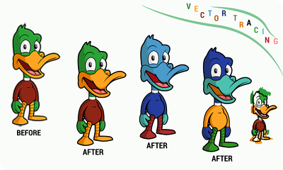 Do vector tracing, art or design within 6 hours