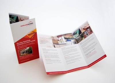 Design you a leaflet for your company