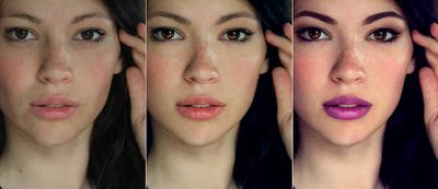 Professionally retouch 2 portraits