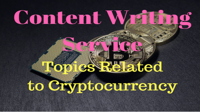 Write article/blogs/content related To Cryptocurrency in 24 hrs