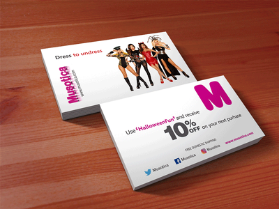 Design exclusive business card to suit your business personality